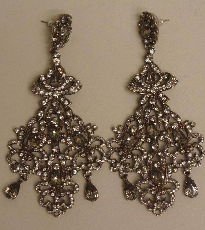 Simon Tu Chandelier Earrings