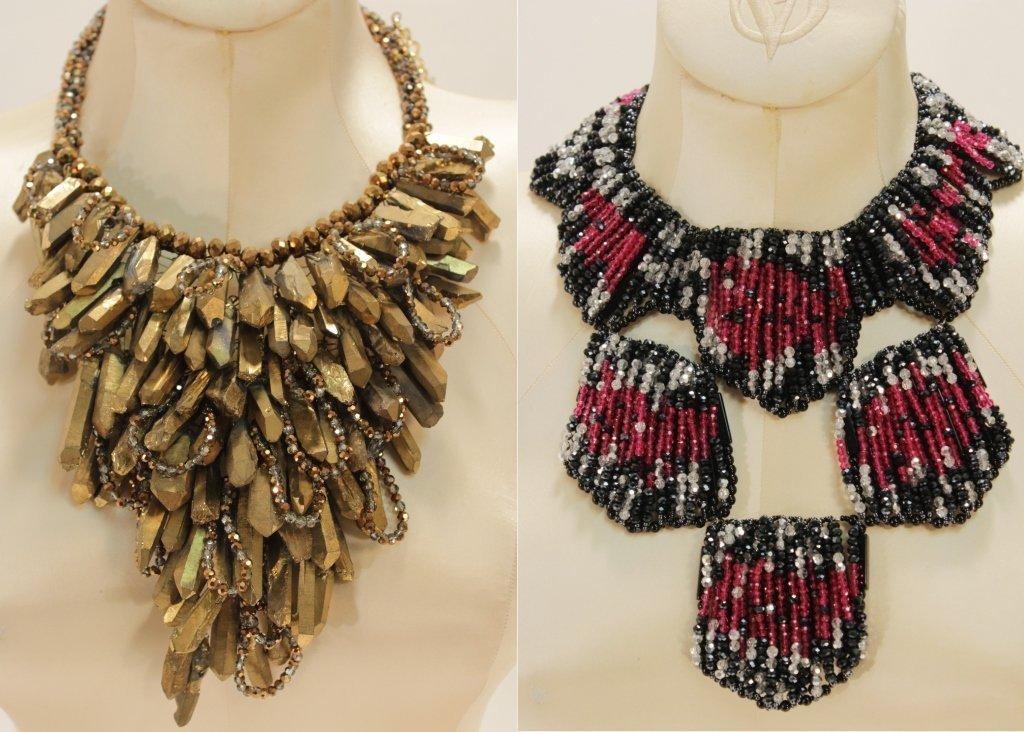 Two Vilaiwan Couture Necklaces