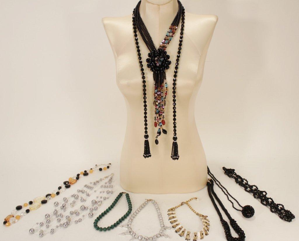 Costume Necklaces; Including Ethnika
