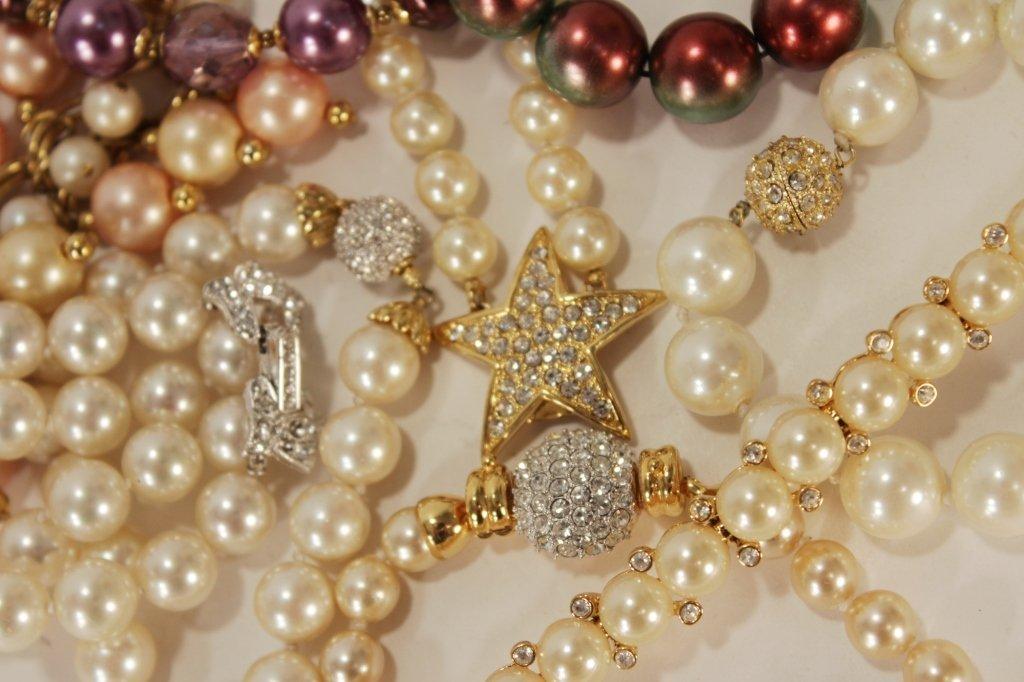 Costume Pearl Bracelets by Joan Rivers