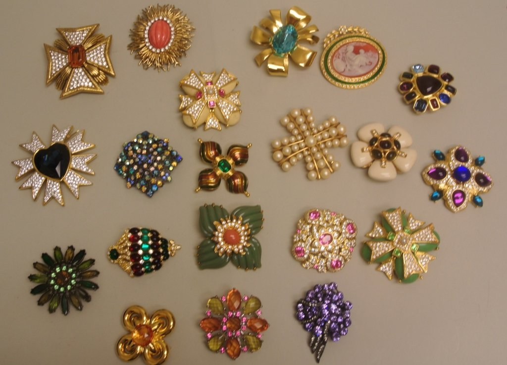 Large Lot of Pins by Joan Rivers