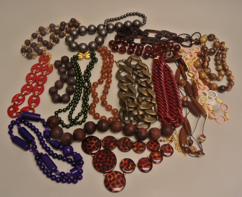 Wooden Beaded Necklaces & Others