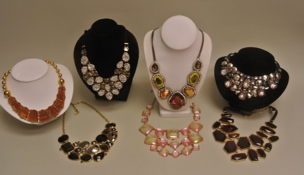 Joan Rivers Faceted Beaded Necklaces