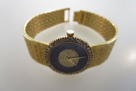 Piaget Diamond & 18K Wrist Watch