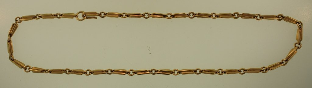 18K Gold Necklace, by Sean Gilson, Crowe Jewellers