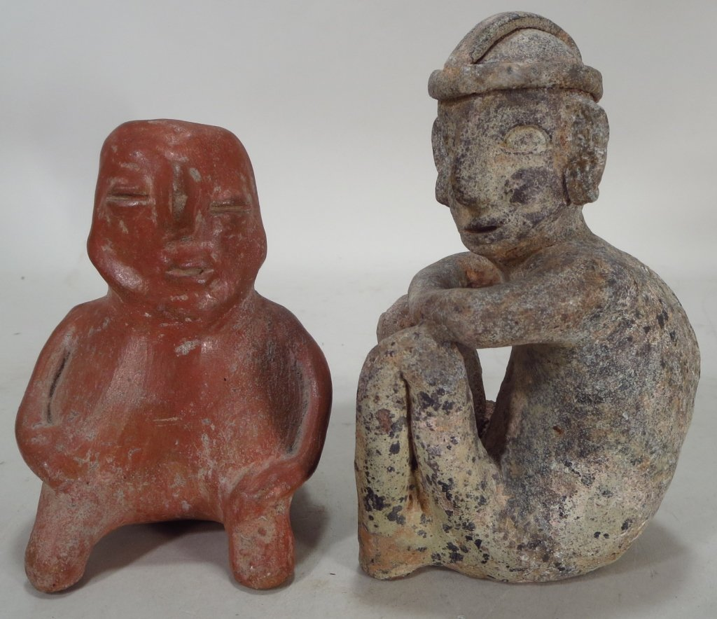 Jalisco Ballplayer & Precolumbian Artifacts. - 2