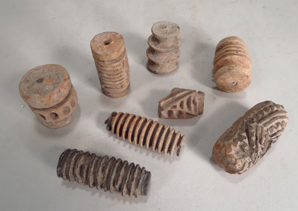 8 Archaic Southeast Asian Pottery Tools