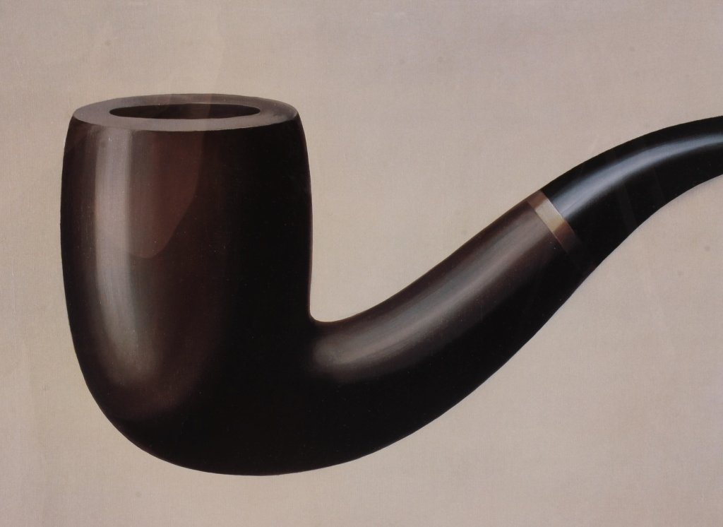 Large 1989 Dada Poster for LACMA, Magritte - 2