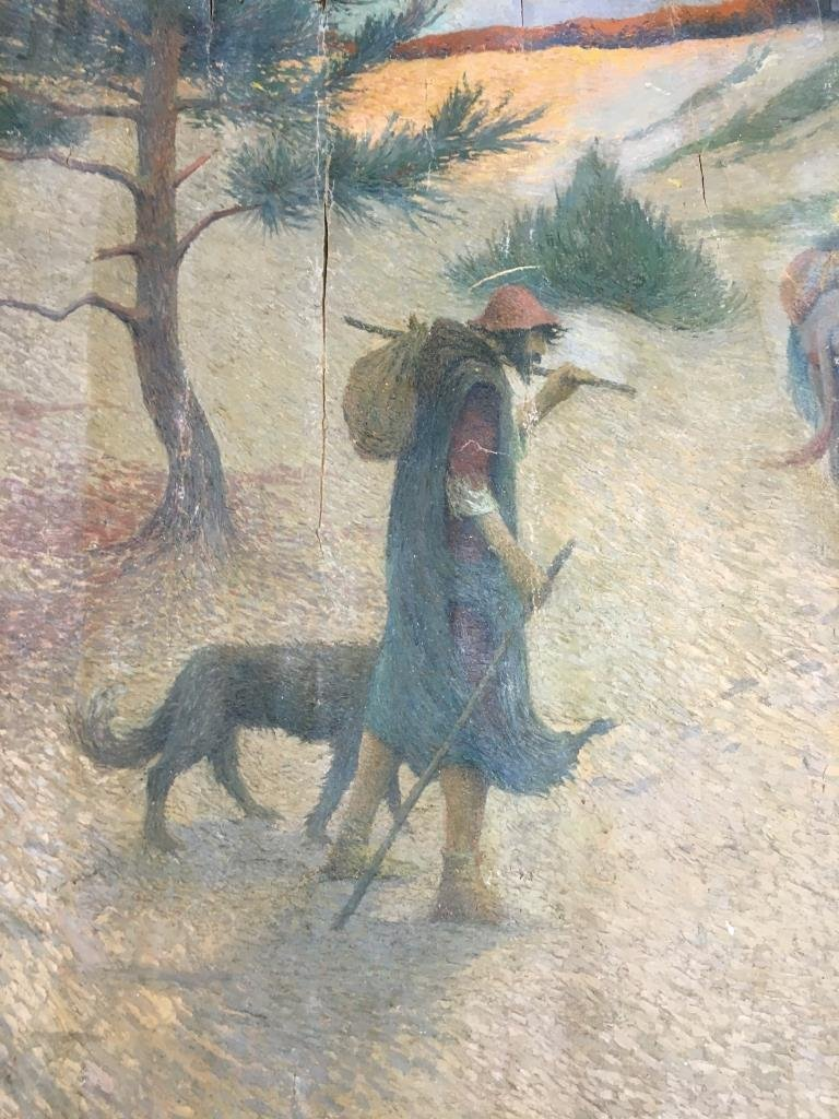 Eugene Cadel, Fr., 1865-1949, Holy Family, Mural - 2