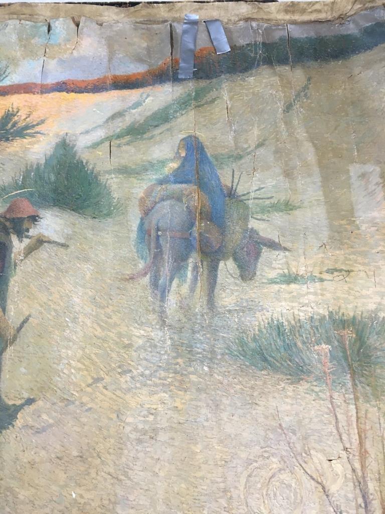 Eugene Cadel, Fr., 1865-1949, Holy Family, Mural - 3