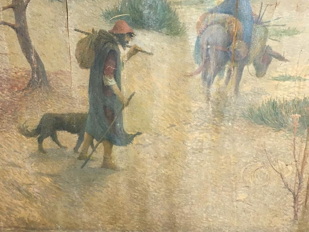 Eugene Cadel, Fr., 1865-1949, Holy Family, Mural - 5