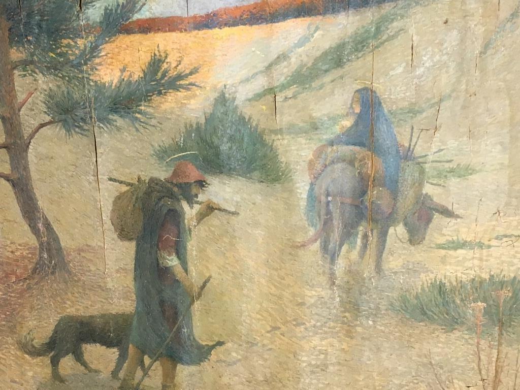 Eugene Cadel, Fr., 1865-1949, Holy Family, Mural - 6