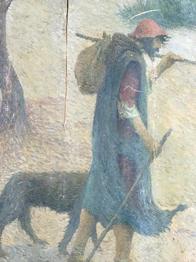Eugene Cadel, Fr., 1865-1949, Holy Family, Mural - 8
