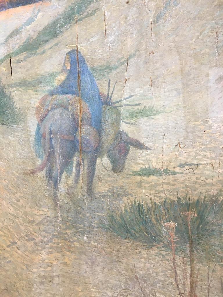 Eugene Cadel, Fr., 1865-1949, Holy Family, Mural - 9
