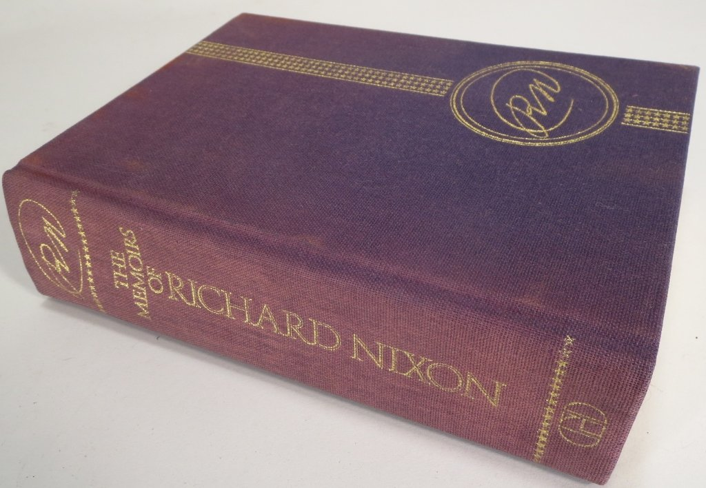 Signed Copy of Memoirs of Richard Nixon