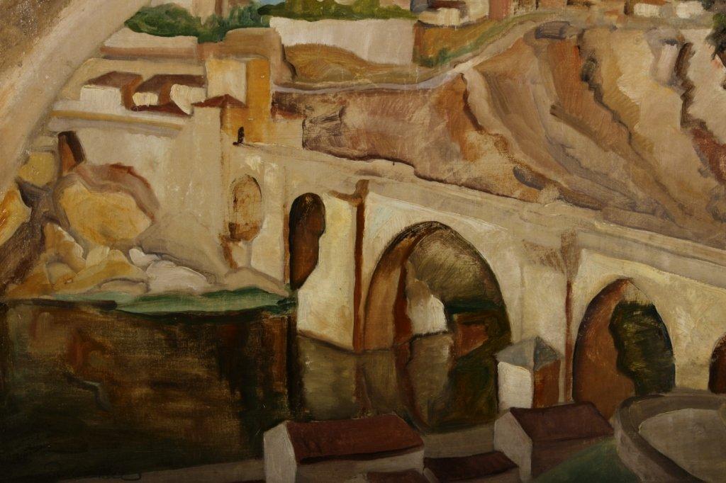 "Italian School, ""Ponte"", O/C. - 3"