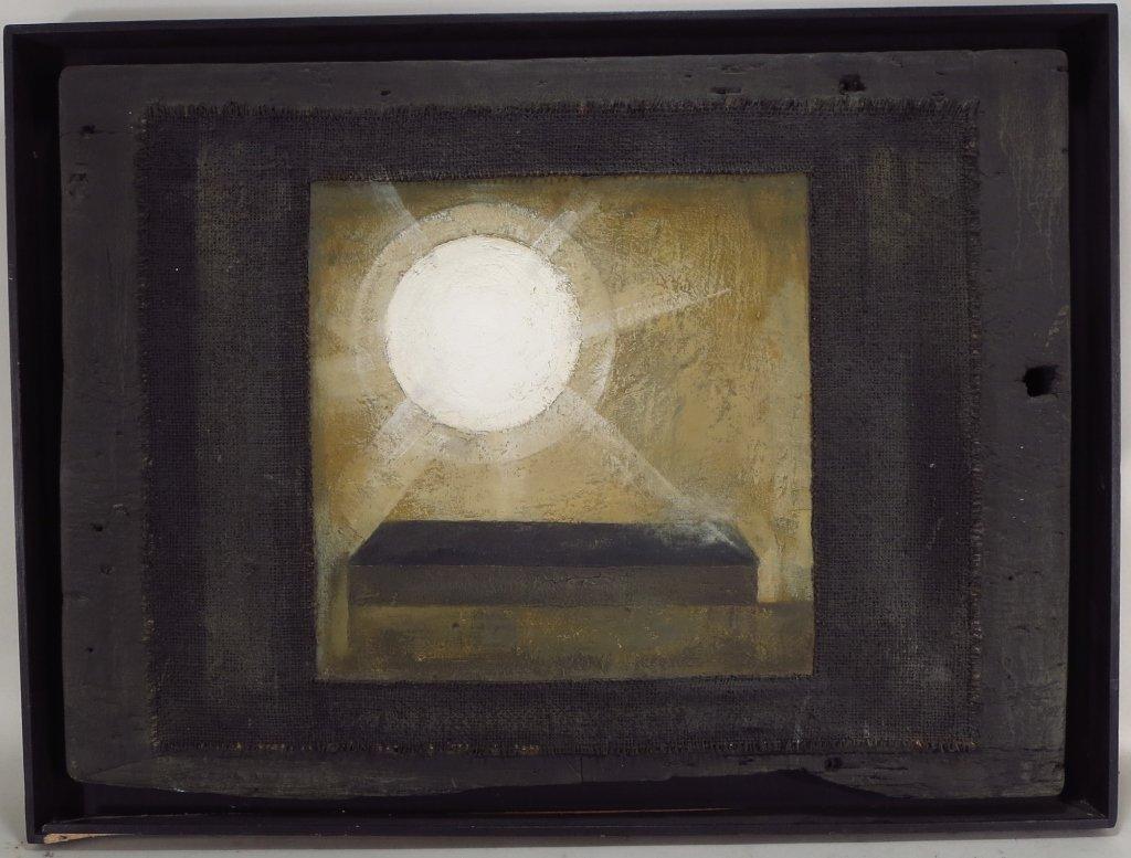 2 Modern Geometric Paintings - 2