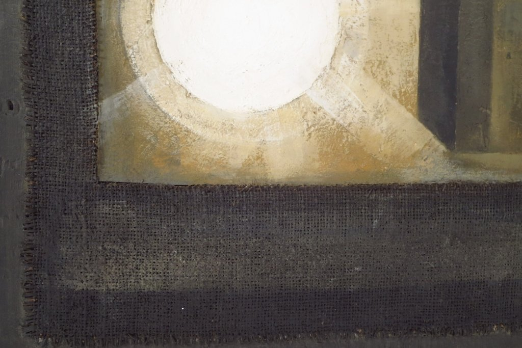 2 Modern Geometric Paintings - 3