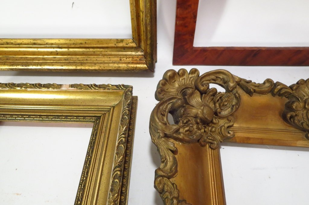 Group of 9 Decorative Wood Frames. - 2