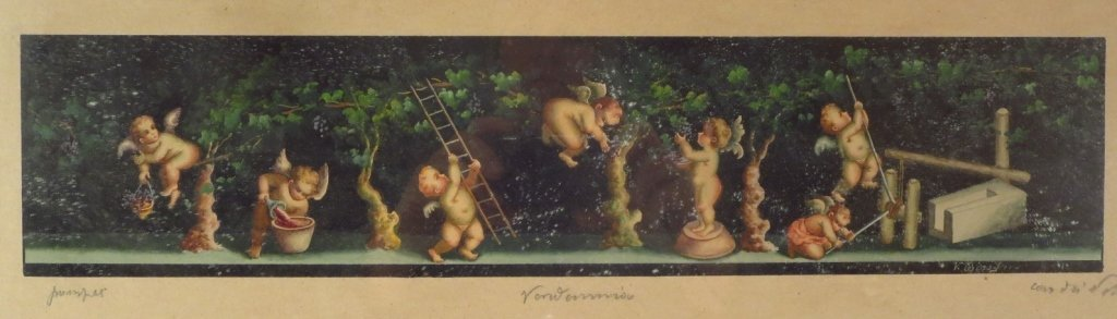 Two Continental Watercolors, 19th C. - 4