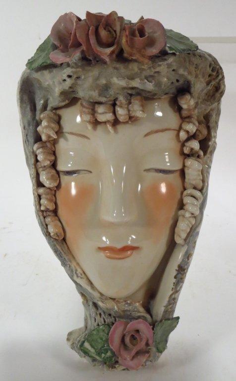 Vintage Cordey Porcelain Head of a Woman
