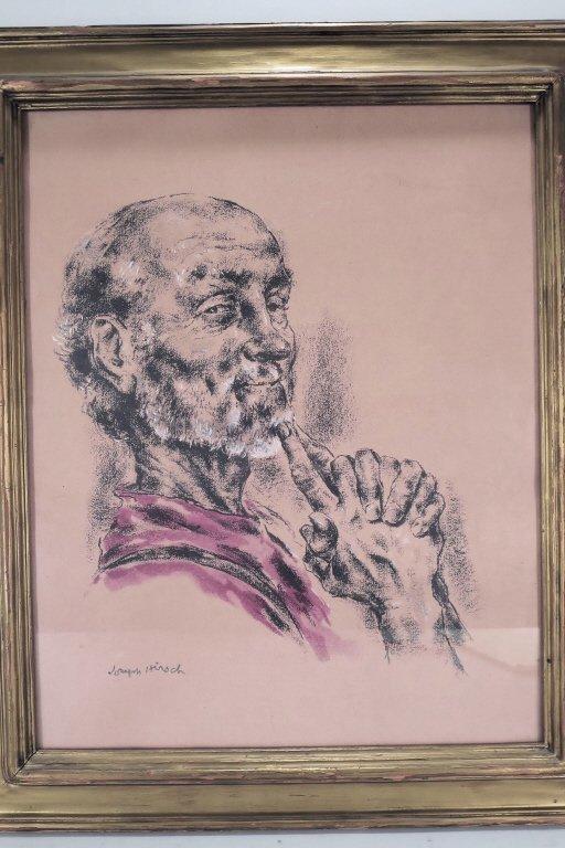 Joseph Hirsch, Portrait, Drawing on Paper - 3