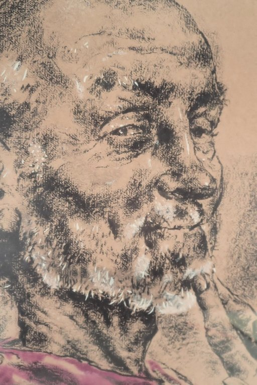 Joseph Hirsch, Portrait, Drawing on Paper - 4