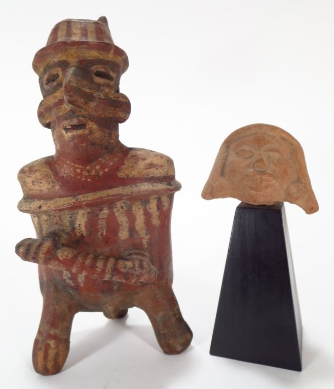 Two Precolumbian Artifacts: Nyarit & Veracruz