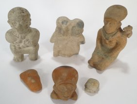 Pre-Columbian Artifacts from Ecuador, c. 500 AD