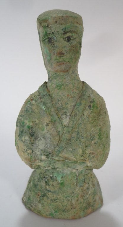 Han Dynasty Court Figure of a Lady, 206 BC-220 AD
