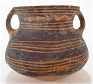 Chinese Neolithic Pottery Jar, c. 2300-2000 B.C.