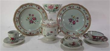 Group of Chinese Export Porcelain, 19th C. et al