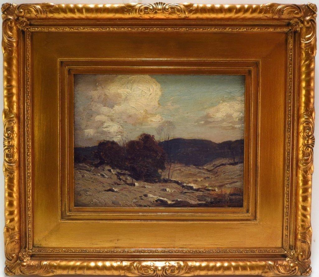 """George Bruestle, Am. 1871-1939,""""N. E. Hills"""" O/B - 2"""