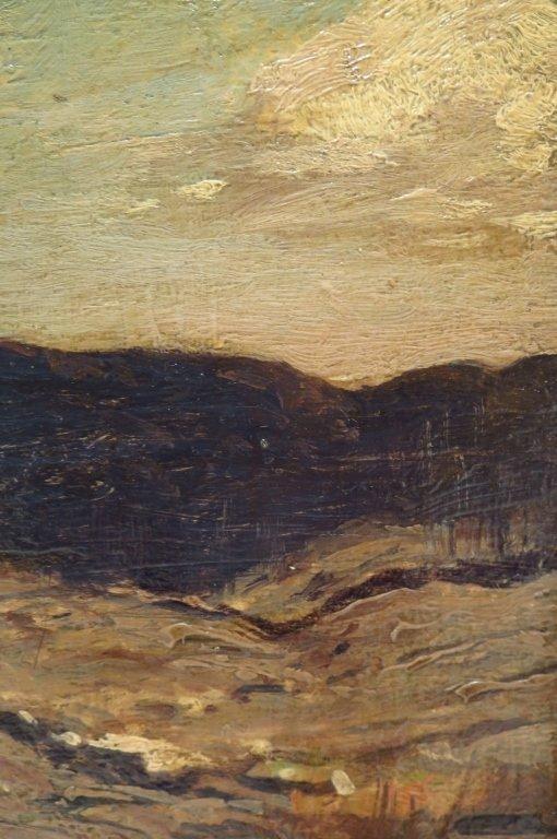 """George Bruestle, Am. 1871-1939,""""N. E. Hills"""" O/B - 4"""