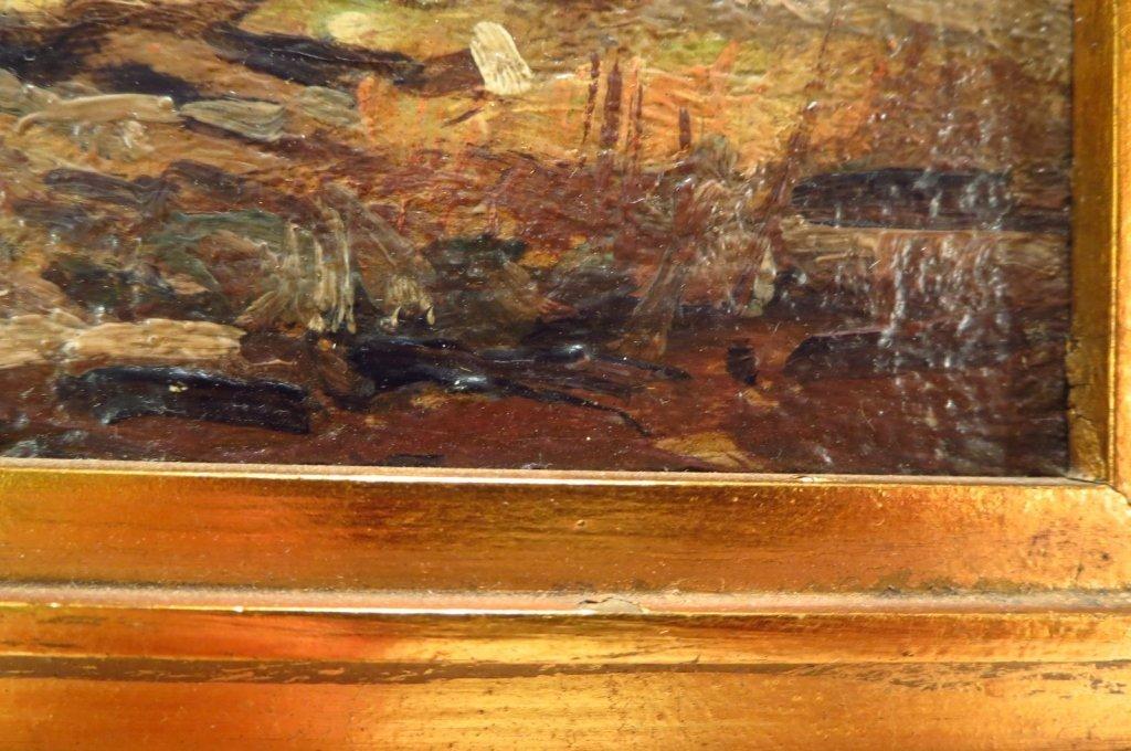 """George Bruestle, Am. 1871-1939,""""N. E. Hills"""" O/B - 5"""