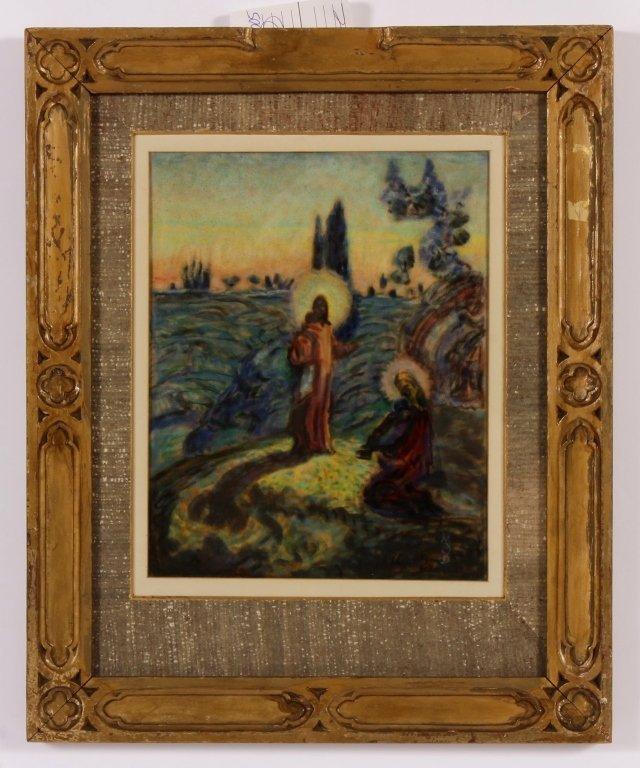 Maurice Denis, Fr., 1870-1943, Religious, Pastel