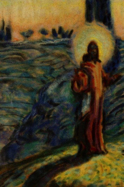 Maurice Denis, Fr., 1870-1943, Religious, Pastel - 3