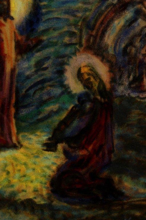 Maurice Denis, Fr., 1870-1943, Religious, Pastel - 4