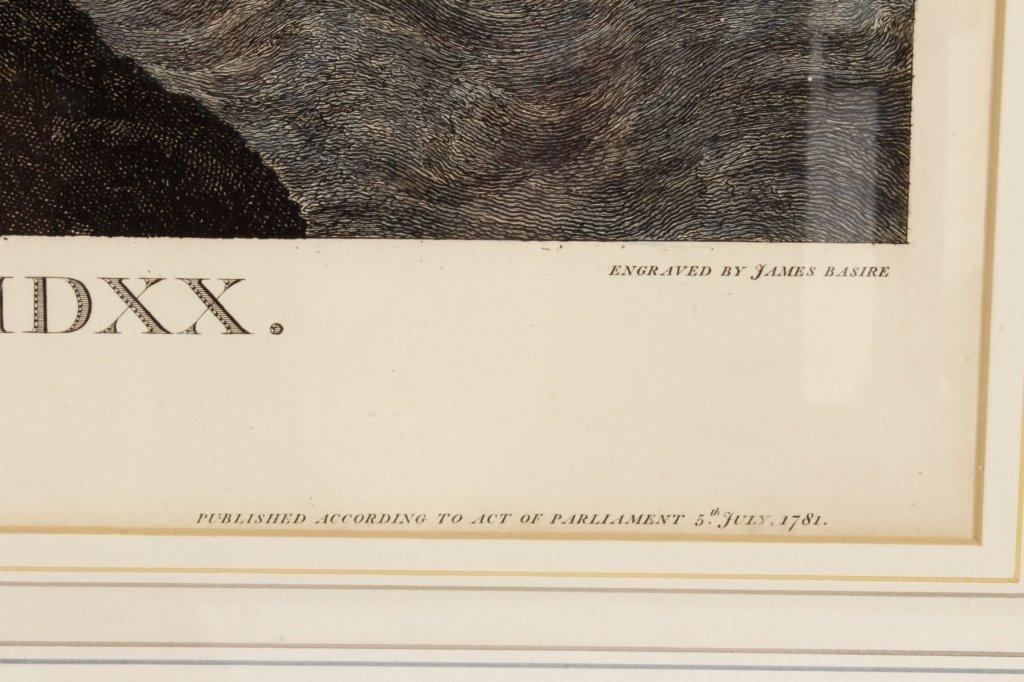 "James Basire, ""Embarkation...Henry VIII"", Panorama - 6"
