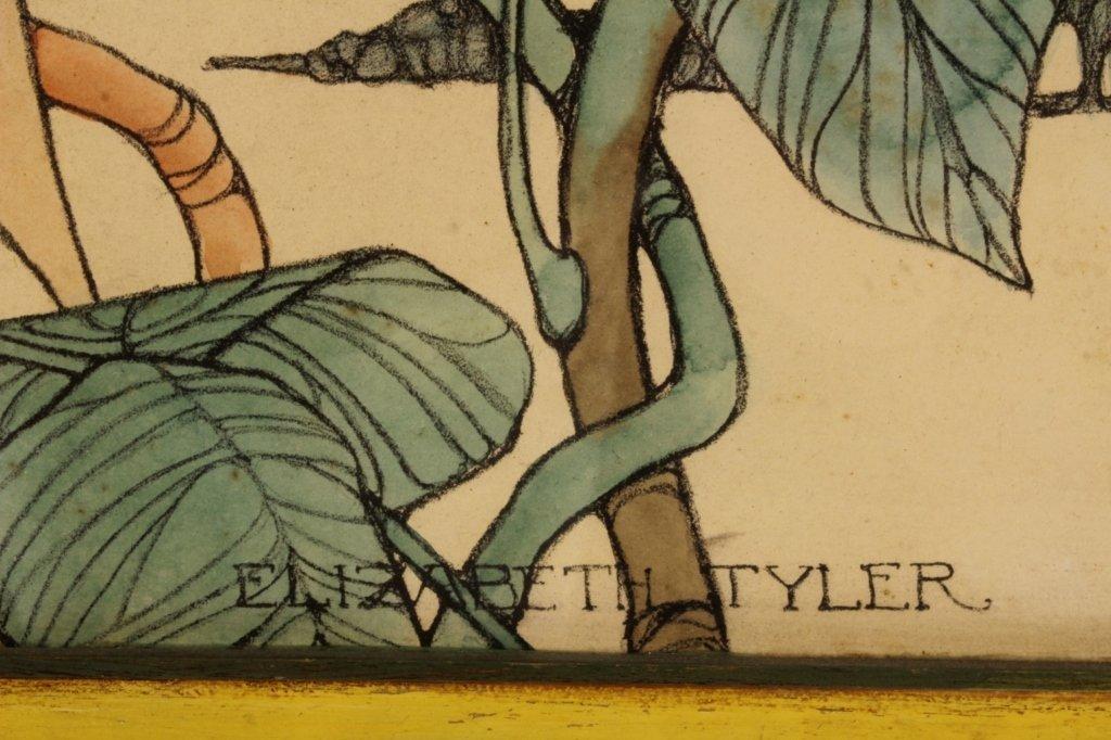 2 Elizabeth Tyler Wolcott Illustration Lithographs - 6