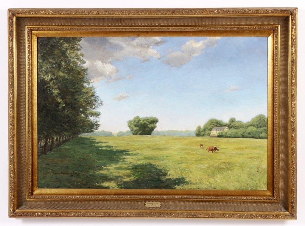 """J. P. Hagen, """"Hammersmith Field"""", O/C/, Signed"""