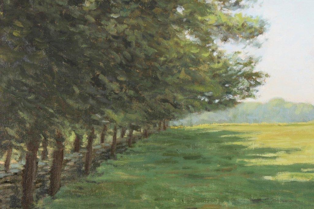 """J. P. Hagen, """"Hammersmith Field"""", O/C/, Signed - 4"""