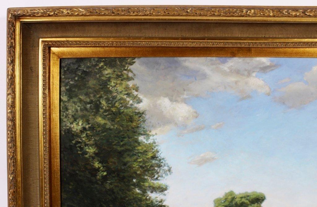 """J. P. Hagen, """"Hammersmith Field"""", O/C/, Signed - 5"""