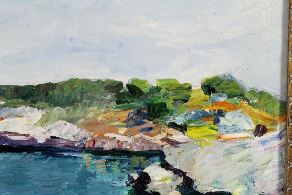R. Nadai, Seascape, Oil / Canvas, 20th C. - 3