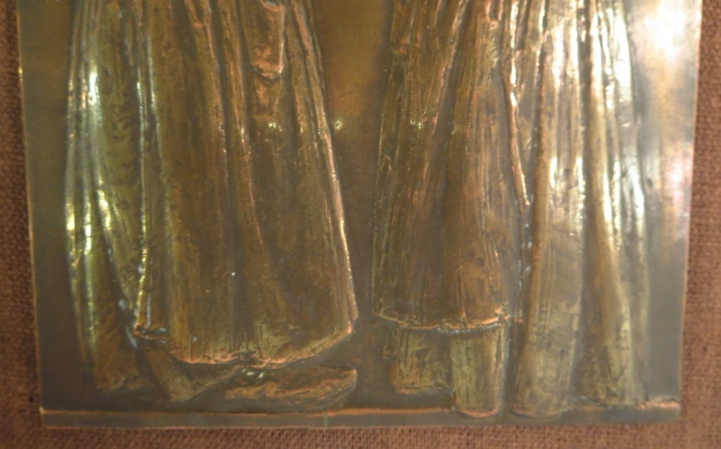 "Andre Schwab, Fr. b. 1883, ""Les Commères"" Bronze - 4"