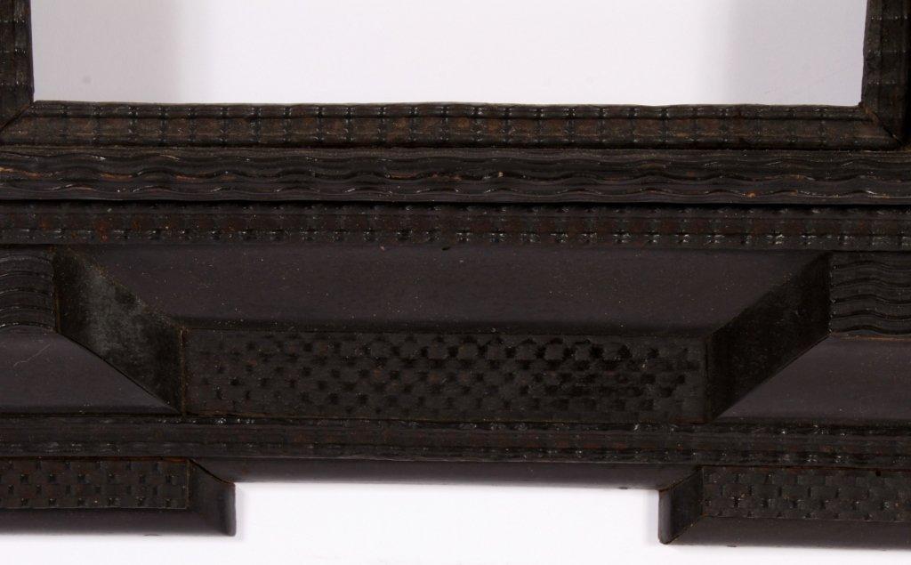 Dutch Ebonized Ripple Corner Frame, 17th/18th c. - 3