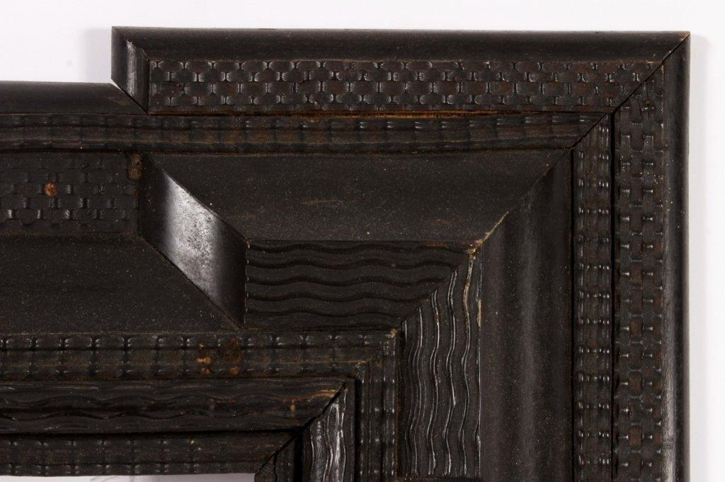 Dutch Ebonized Ripple Corner Frame, 17th/18th c. - 4