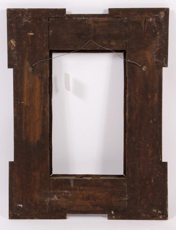 Dutch Ebonized Ripple Corner Frame, 17th/18th c. - 5