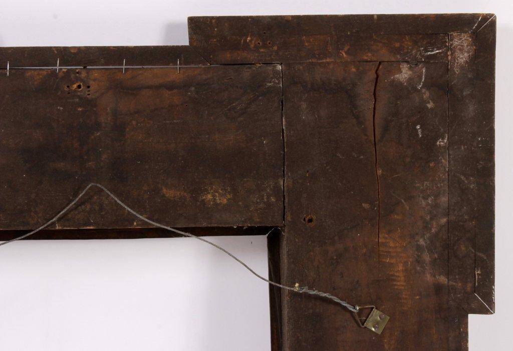 Dutch Ebonized Ripple Corner Frame, 17th/18th c. - 6