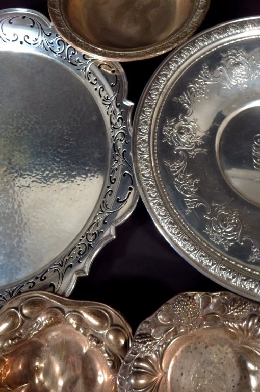 Sterling Silver Tableware, Am. & English, 20th C. - 2